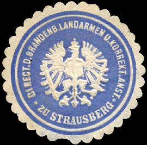 Direction der Brandenburger Landarmen und Korrektionsanstalt zu Strausberg