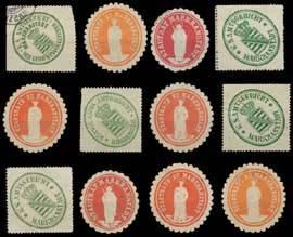 Markranstädt Sammlung Siegelmarken