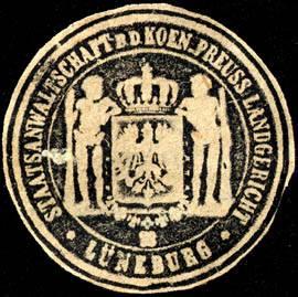 Staatsanwaltschaft bei dem Koeniglich Preussischen Landgericht - Lüneburg