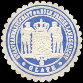 Staatsanwaltschaft bei dem K. Pr. Landgericht - Glatz