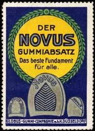 Der Novus Gummiabsatz