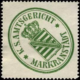 Königlich Sächsisches Amtsgericht - Markranstädt