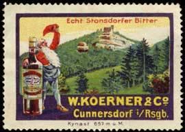 Echt Stonsdorfer Bitter