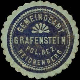 Gemeindeamt Grafenstein Pol. Bez. Reichenberg