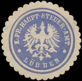K.Pr. Haupt-Steuer-Amt Lübben