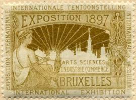 Exposition 1897 Bruxelles (Brüssel)