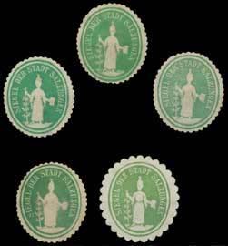 Bad Salzungen Sammlung Siegelmarken