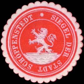 Siegel der Stadt Schöppenstedt