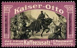 Einzug Ottos in Magdeburg
