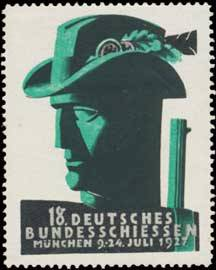 18. Deutsches Bundesschiessen Jagd