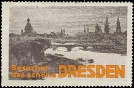 Besuchet das schöne Dresden