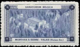 Sanatorium Belgica - Montana S./Sierre-Valais