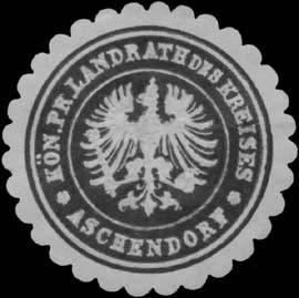 K.Pr. Landrath des Kreises Aschendorf