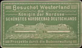 Besuchet Westerland die Königin der Nordsee