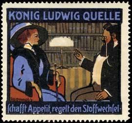 König Ludwig Quelle Mineralwasser