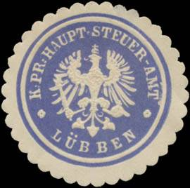 K.Pr. Haupt-Steuer-Amt Lübben/Spreewald