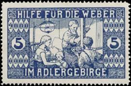 Hilfe für die Weber im Adlergebirge