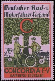 Radfahrer - Motorradfahrer