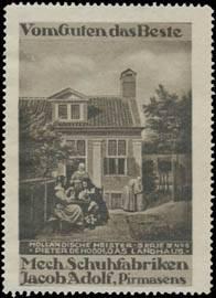 Das Landhaus von Pieter de Hooch