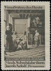 Holländisches Haus von Pieter de Hooch