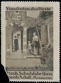 Hof von Pieter de Hooch
