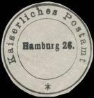Bild zu K. Postamt Hambur...