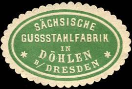 Sächsische Gussstahlfabrik in Döhlen bei Dresden