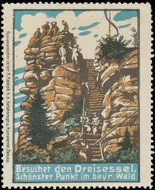 Besuchet den Dreisessel im bayrischen Wald