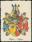 Häger, Heger Wappen