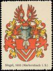 Siegel-Wappen Markersbach in Sachsen
