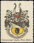 Schwarzkopf (Sachsen, Hannover, Bayern) Wappen