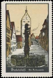 Rathausplatz in Alt Dinkelsbühl