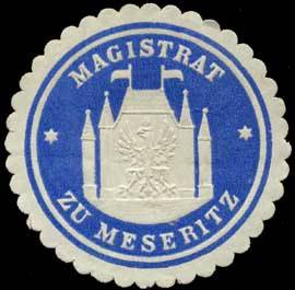 Magistrat zu Meseritz