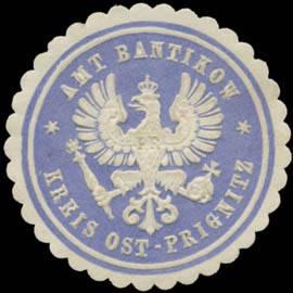 Amt Bantikow Kreis Ost-Prignitz