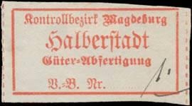 Güterabfertigung Bahnhof Halberstadt