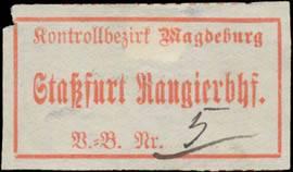 Güterabfertigung Staßfurt Rangierbahnhof