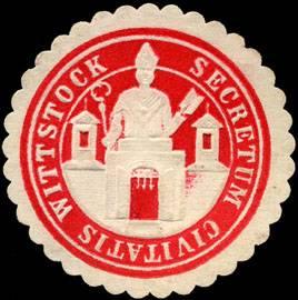 Secretum Civitatis Wittstock