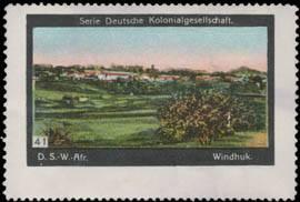 Windhuk Deutsch-Südwestafrika