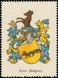 Voos (Belgien) Wappen