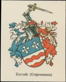 Zerrath (Ostpreußen) Wappen