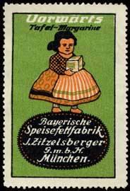 Vorwärts Tafel-Margarine