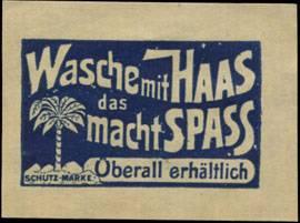 Wasche mit Haas das macht Spass