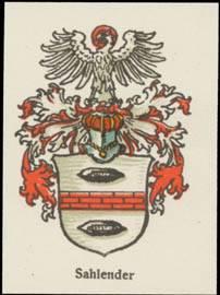 Sahlender Wappen