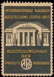Ausstellungshaus der Preolit Präparate