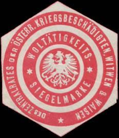 Wohltätigkeits-Siegelmarke