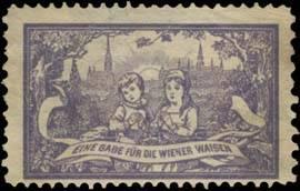 eine Gabe für die Wiener Waisen Kinder