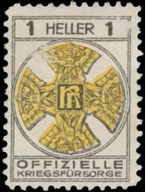 1 Heller Spendenmarke
