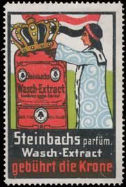Steinbachs parfüm. Wasch-Extract gebührt die Krone