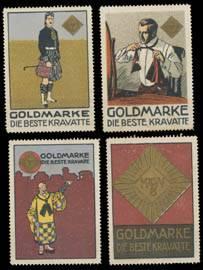 Goldmarke Kravatte Sammlung