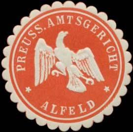 Pr. Amtsgericht Alfeld